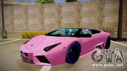 Lamborghini Reventon v2 para GTA San Andreas