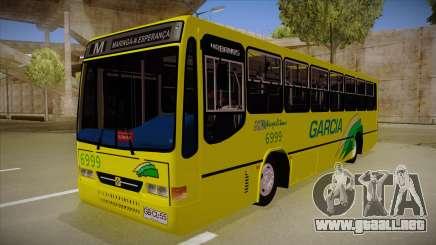 Busscar Urbanus SS Volvo B10 M garcia para GTA San Andreas