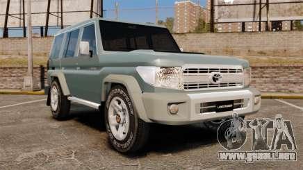 Toyota Land Cruiser 76 Wagon GXL 2010 para GTA 4