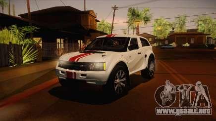 Bombín EXR S 2012 FIV & APT para GTA San Andreas