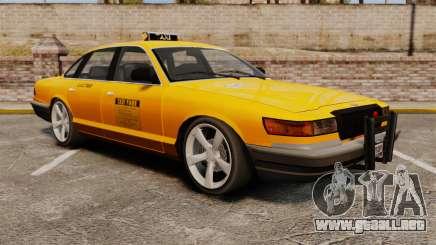 Taxi nuevo CD para GTA 4