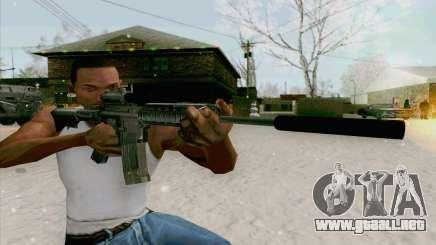 La M4a1 para GTA San Andreas