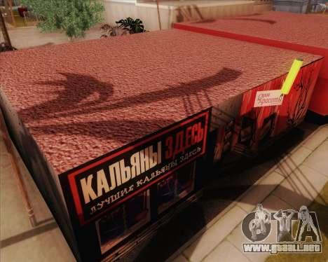 Nuevas texturas Binco para GTA San Andreas sucesivamente de pantalla