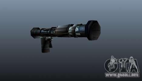 Lanzagranadas antitanque portátil para GTA 4 segundos de pantalla
