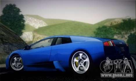 2005 Lamborghini Murciélago para GTA San Andreas vista hacia atrás