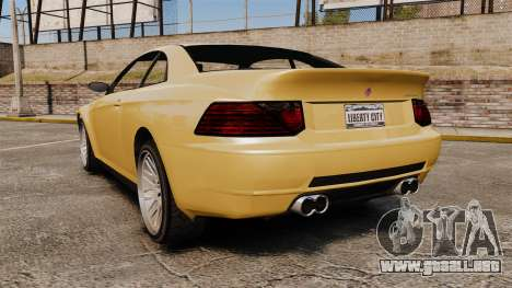 GTA V Zion XS [Update] para GTA 4 Vista posterior izquierda