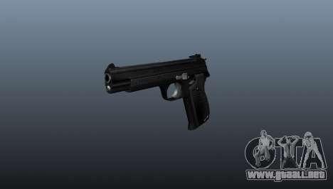 Pistola semiautomática SIG P210 para GTA 4