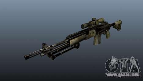 Rifle de francotirador M21 Mk14 v7 para GTA 4