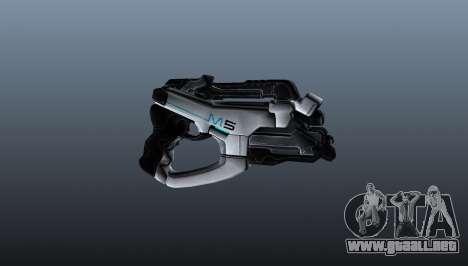 Pistola M5 falange para GTA 4 tercera pantalla
