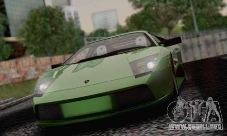 2005 Lamborghini Murciélago para vista inferior GTA San Andreas