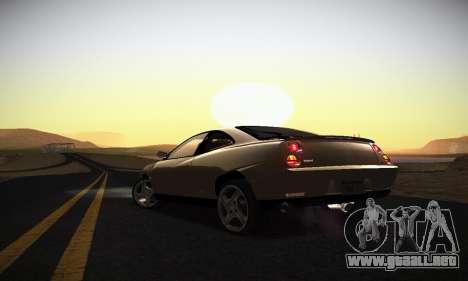 Fiat Coupe para vista inferior GTA San Andreas