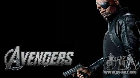 Pantalla de arranque de Vengadores para GTA 4 novena de pantalla