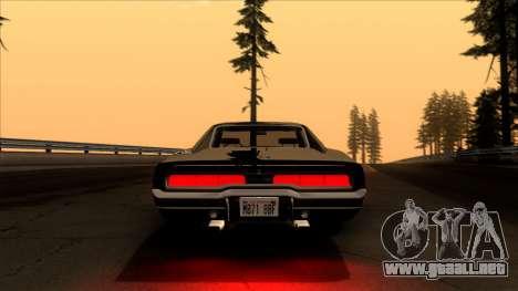 Dodge Charger 440 (XS29) 1970 para visión interna GTA San Andreas
