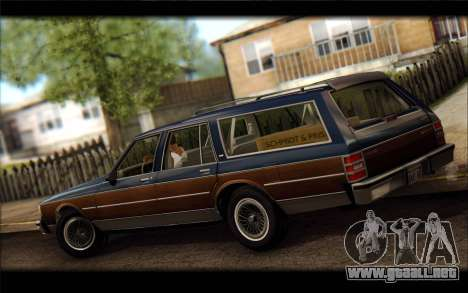 Chevrolet Caprice 1989 Station Wagon para GTA San Andreas left