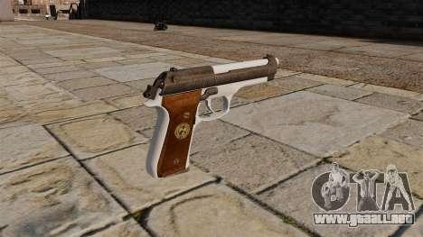 Albert Como Jogar Com Wesker Em pistola para GTA 4 segundos de pantalla