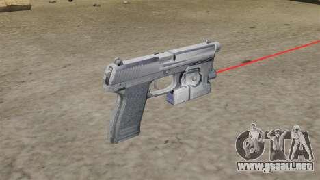 H & K MK23 Socom pistola para GTA 4 segundos de pantalla