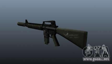El fusil de asalto M16A4 para GTA 4 segundos de pantalla