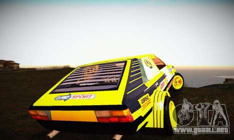FSO Polonez 2500 Racing 1978 para visión interna GTA San Andreas