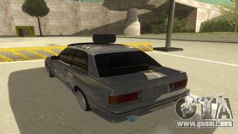 BMW E30 1991 para GTA San Andreas vista hacia atrás