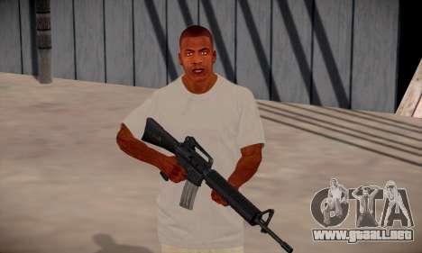 Franklin HD para GTA San Andreas séptima pantalla
