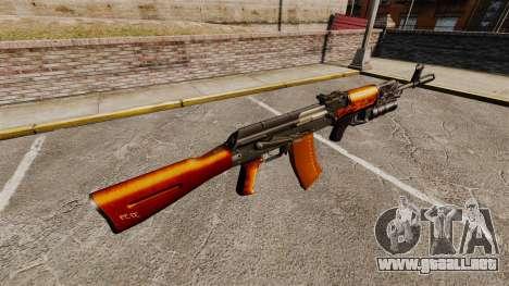 AK-47 v1 para GTA 4 segundos de pantalla