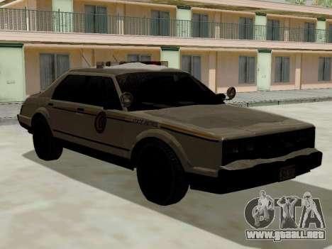 Norte Yanton policía Esperanto de GTA 5 para GTA San Andreas left