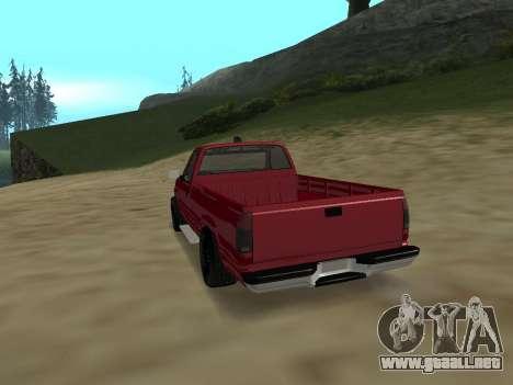 Chevrolet Silverado ATTF para la visión correcta GTA San Andreas