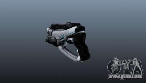 Pistola M5 falange para GTA 4 segundos de pantalla