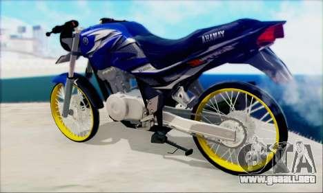 Yamaha 225R Scorpio Z para GTA San Andreas left