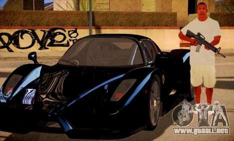 Franklin HD para GTA San Andreas tercera pantalla