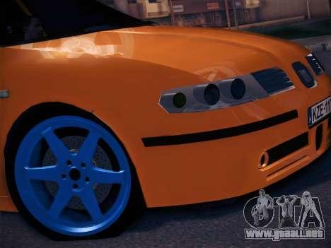 Seat Toledo Cupra R para GTA San Andreas vista posterior izquierda