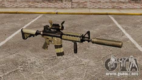 Carabina M4 con silenciador v1 para GTA 4