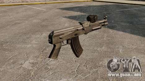 Draco de AK-47 para GTA 4 segundos de pantalla