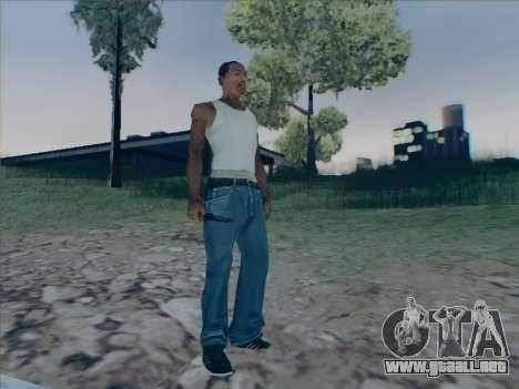 Battlefield 2142 Knife para GTA San Andreas sucesivamente de pantalla