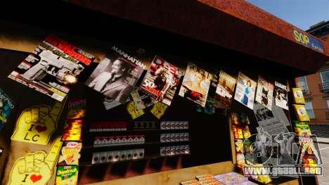 Nuevos productos en noticias de la tienda para GTA 4 quinta pantalla