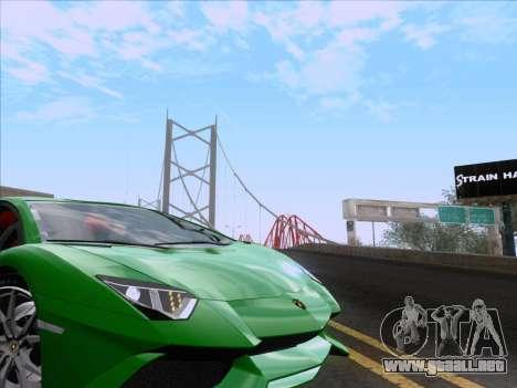 Lamborghini Aventador LP720-4 2013 para la vista superior GTA San Andreas