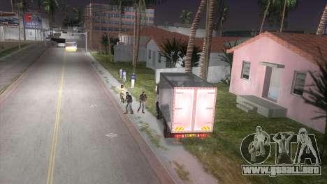 Mercedes Benz Atego para GTA Vice City visión correcta