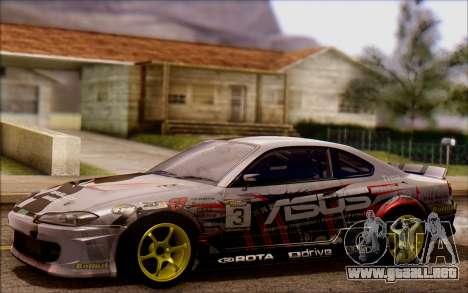 Nissan S15 Asus Team para GTA San Andreas