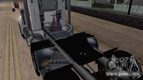 Peterbilt 379 Papa Clyde para GTA San Andreas vista hacia atrás
