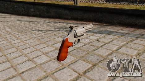 500ES S & W Magnum revolver. para GTA 4 segundos de pantalla