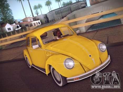 Volkswagen Käfer para GTA San Andreas left