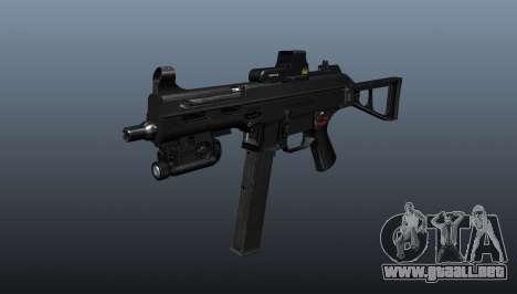 Submachine gun HK UMP 45 para GTA 4
