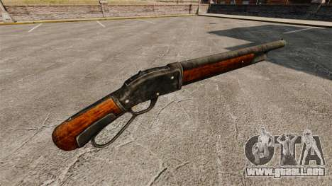 El Winchester modelo 1887 escopeta v2.0 para GTA 4 segundos de pantalla