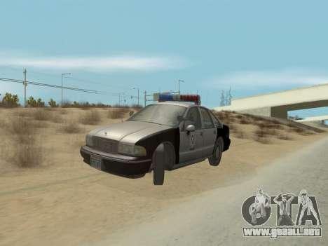 Chevrolet Caprice LVPD 1991 para GTA San Andreas
