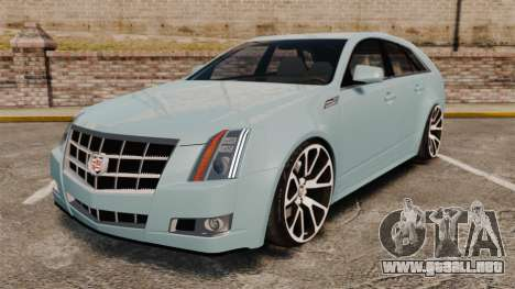 Cadillac CTS SW 2010 para GTA 4