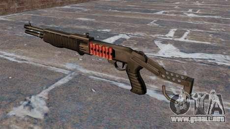 Franchi SPAS-12 escopeta Armageddon v2.0 para GTA 4 segundos de pantalla