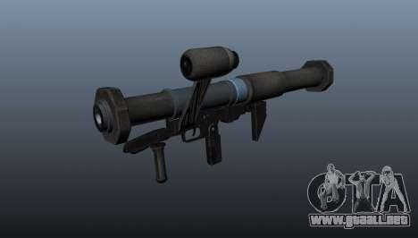 Lanzador de granadas antitanque todos lamiendo s para GTA 4