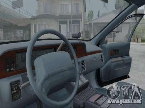 Chevrolet Caprice LVPD 1991 para GTA San Andreas left