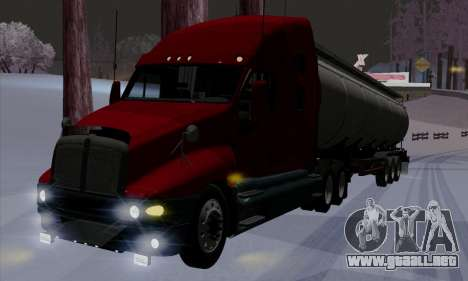 Kenworth T2000 v2.9 para la vista superior GTA San Andreas