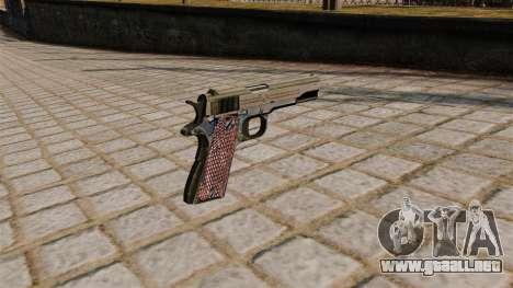 Pistola Colt M1911A1 para GTA 4 segundos de pantalla